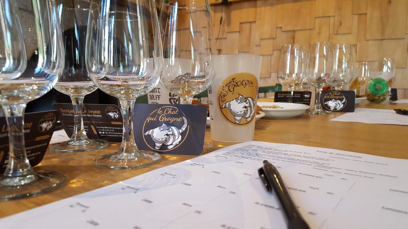 Ateliers degustation de Biere